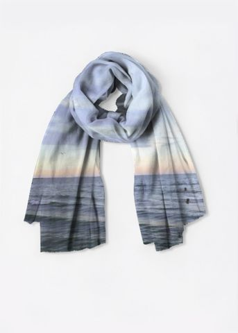 Oversized Merino Wool Scarf -! by VIDA VIDA