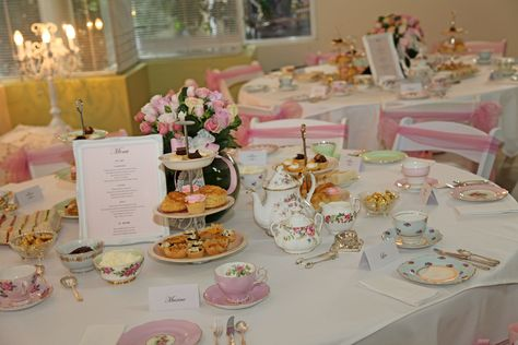 Banquet deco on pinterest banquet ideas wedding hall for High tea party decorations
