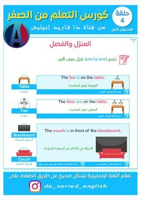 Pin On Arabi English