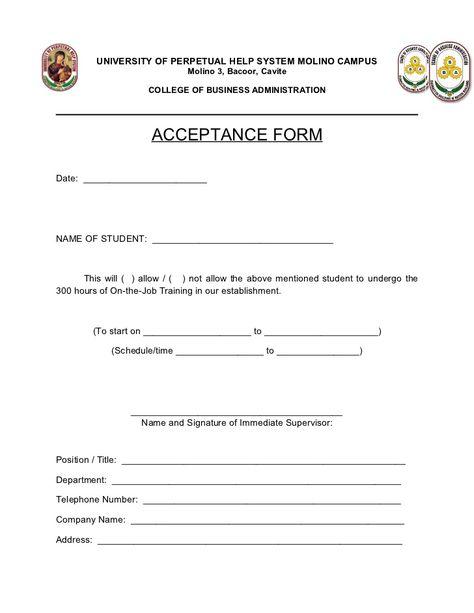 application letter sample for ojt uncategorized Home Design Idea - sample resume for ojt students