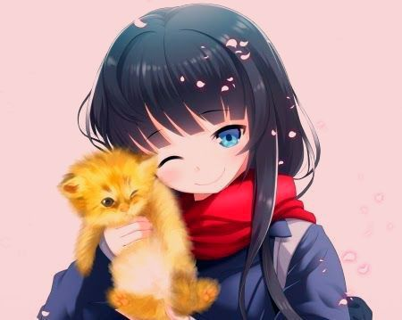 13 Wallpaper Cute Cat Anime Cute Kitty Other Anime Background Wallpapers On Desktop Download Kitten Wallpaper Free Anime Cute Wallpaper Cat Hd Downl Manga