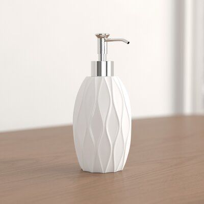 Foundstone Tess Soap Dispenser Colour White In 2020 Soap