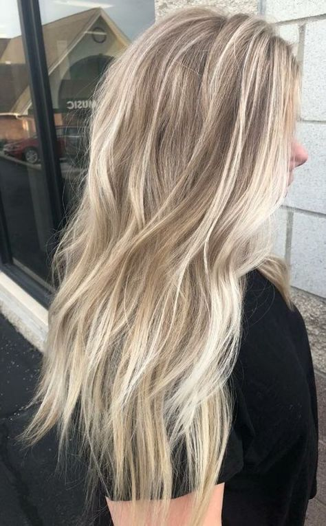 Glamorous Long Shade Of Blonde Hairstyle In Summer You Will Love