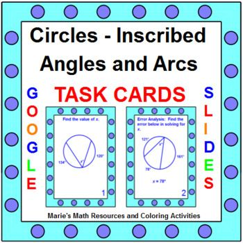 Worksheet Inscribed Angles And Arcs Day 2 Answer Key ...