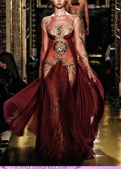 Zuhair Murad Haute Couture S/S 2007 Gorgeous Gown Style Couture, Couture Fashion, Runway Fashion, Latest Fashion, Fashion Trends, Beautiful Gowns, Beautiful Outfits, Beautiful Body, Gorgeous Dress