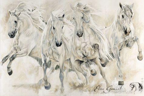 Reproductions giclées sur toile - giclée prints on canvas — Elise Genest