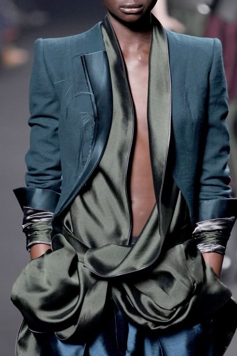 HAIDER ACKERMANN - love the colors...so perfect, works well for every skin tone.