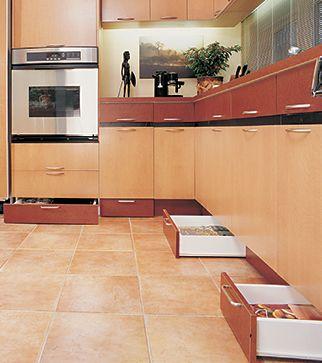 Rangements Pratiques Pour La Cuisine Plinthes Époxy Et Leroy Merlin - Meuble de cuisine rangement pour idees de deco de cuisine