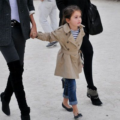 I love Parisian style. - This is sooo what my kid would look like