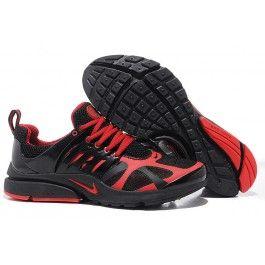 Billig Nike Air Presto V4 Männer Schuhe Schwarz Rot Schuhe Online |  Verkaufen Nike Air Presto