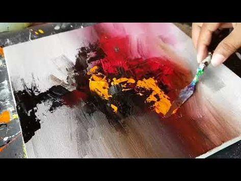 Youtube Abstrakte Kunst Malerei Acrylmalerei Abstrakt