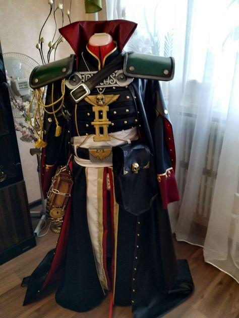 Inquisitor Eisenhorn cosplay costume