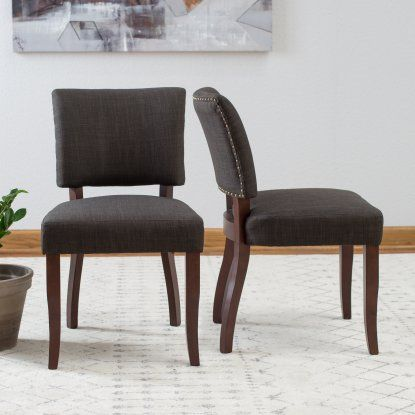 Awesome Belham Living Paige Open Back Dining Chair Set Of 2 Uwap Interior Chair Design Uwaporg