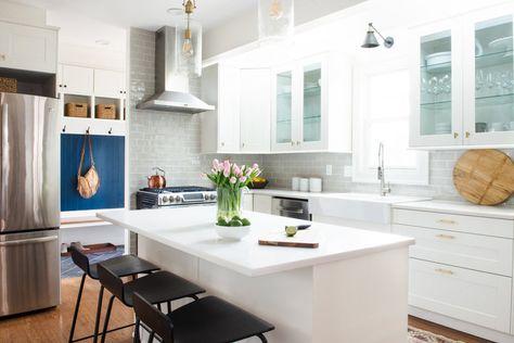 White Zen Quartz Budget Friendly Kitchen Reno Redo Home Design
