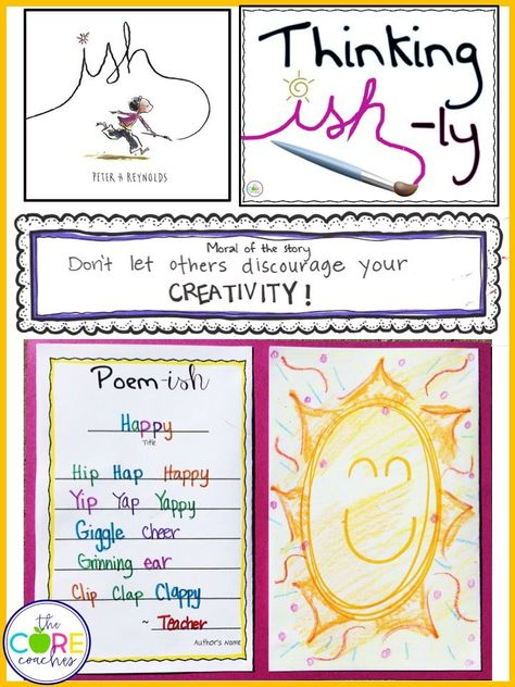 An activity guide for the books The Dot and The Ish written