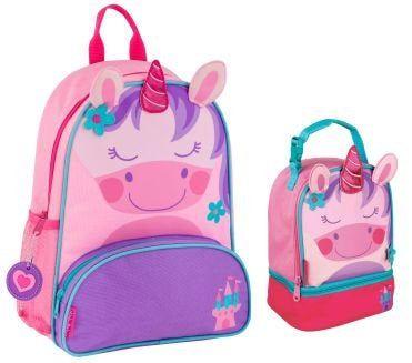 Unicorn Nursery Bag School Personalised Stephen Joseph Backpack