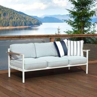 Baltic Patio Sofa With Cushions U 2020 R Mebli