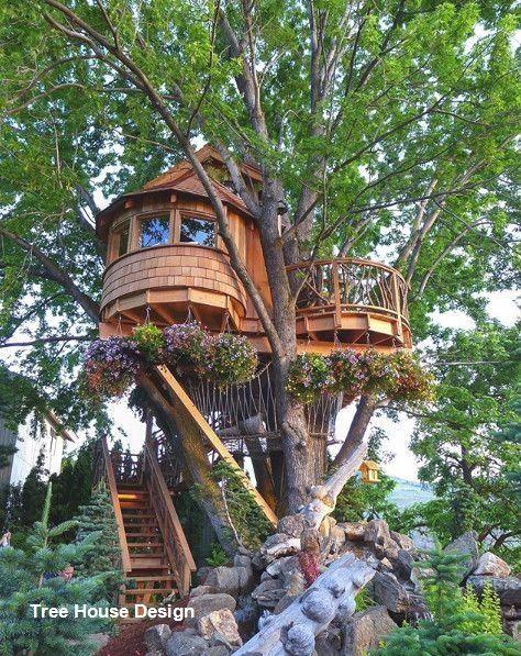 Best Tree House Designs In 2020 Tree House Designs Cool Tree Houses Beautiful Tree Houses
