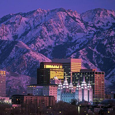 Salt Lake City, Utah - dreaming of being here next year