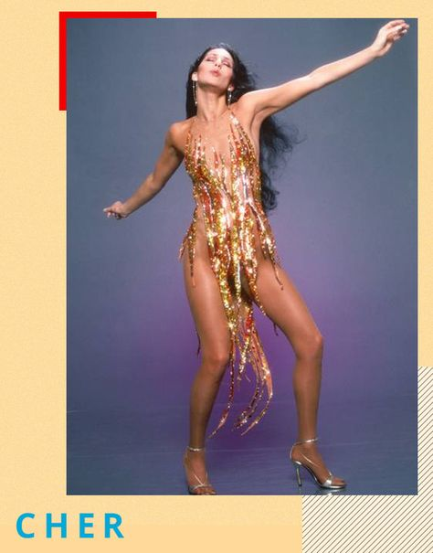 Cher, Tina Turner or Beyoncé: who wore Bob Mackie's flame dress best? Tina Turner, Bob Mackie, 70s Fashion, Vintage Fashion, Fashion Outfits, Fashion 2014, Studio 54 Fashion, Fashion Shoot, Fashion Wear