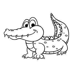 Cocodrilo Para Colorear Coloring Books Animal Coloring Books Animal Coloring Pages