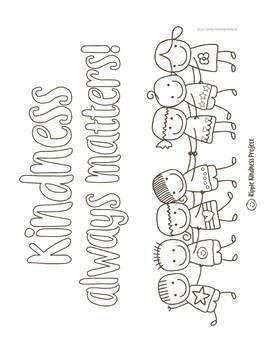 Kindness Coloring Pages For Building Character Us Letter Format Kindness Activities Sunday School Coloring Pages Manners Preschool