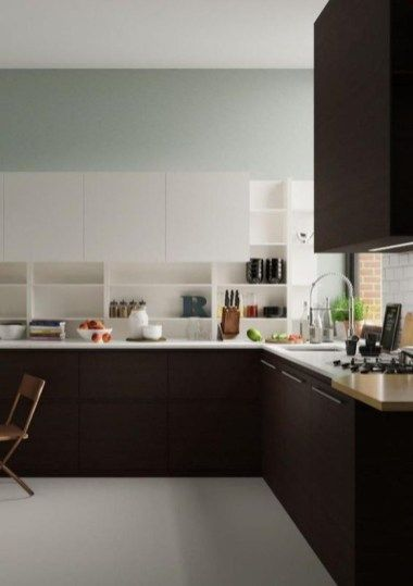 20 Relaxing Kitchen Cabinet Colour Combinations Ideas To Try Kitchen Cabinets Color Combination Kitchen Design Luxury Kitchen Design Kitchen room colour combination kitchen