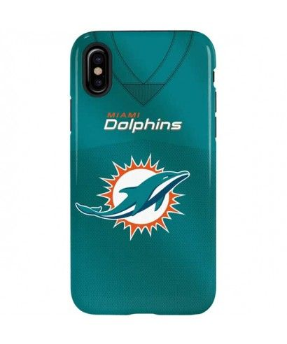 low cost 3527c 4567f NFL Miami Dolphins iPhone XS Max Pro Case | NFL Jersey Collection ...