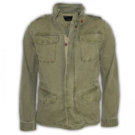 Jacke Man von #Scotch & #Soda    #army #armee #oliv #grün #green #camouflage #military #militär