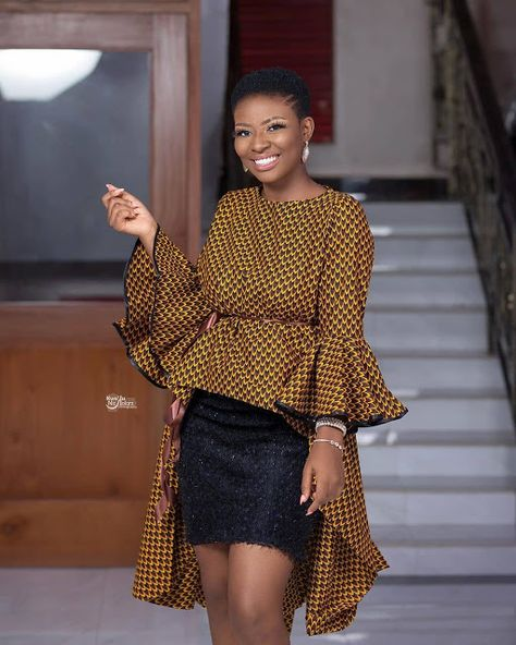 40 Latest African Fashion Dresses 2019 : Styles to Look Cool and Fashionable - Zaineey's Blog