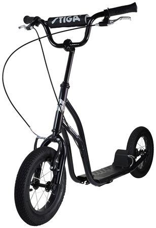 Etto Psycho Kid Fahrradhelm Black Stencil Tretroller Roller Treten