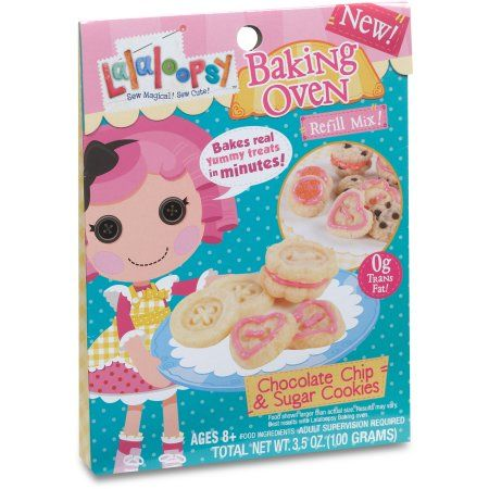 Lalaloopsy Baking Oven Mix, Chocolate Chip & Sugar Cookies $13.00