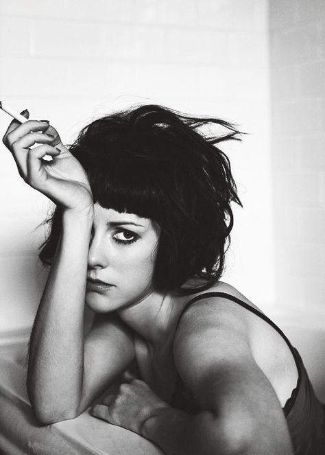 black and white, smoking, model test inspiration