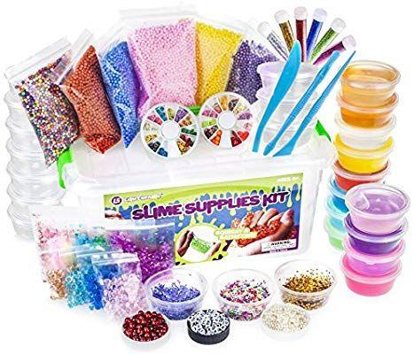 55 Piece DIY Supplies Kits for Girls /& Boys