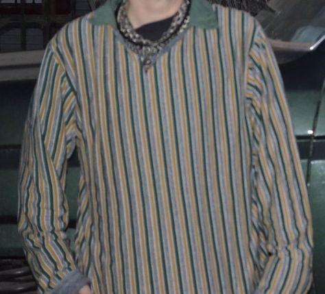 FiereMen Asymmetric Hem Long Sleeve Stand up Collar Solid Color Work Shirt