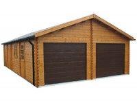 Charming 22 Best Log Garages Images On Pinterest | Aluminum Carport, Wooden Garages  And Garage