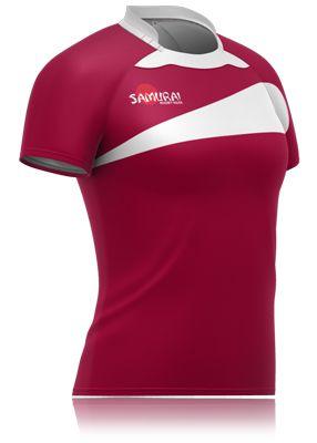 Women S Rugby Shirt Design By Samurai Sportswear Deisgn Your Own Team Kit At Www Samurai Sport Women S Rugby Shirts Rugby Shirt