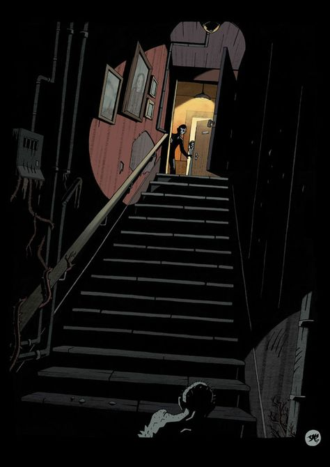 Lovecraft is one of the godfathers of horror and sci-fi genre. Illustrations, Illustration Art, Yog Sothoth, Call Of Cthulhu Rpg, Hp Lovecraft, Background Drawing, Creepy Pictures, Mike Mignola, Arte Horror