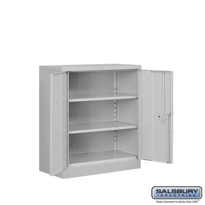 Salsbury Industries 8048gryu 454 00 Metal Storage Cabinets Storage Cabinet