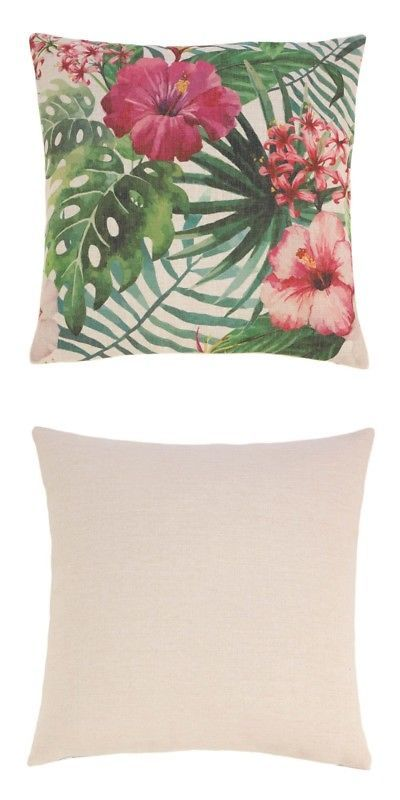 Decorative Bed Pillows 115630 Hawaiian Hibiscus Decorative Throw Pillow Buy It Now Only 10 23 On Ebay Decorative Throw Pillows Pillow Sale Throw Pillows
