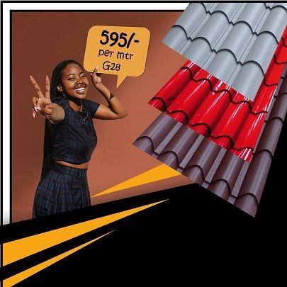Offer For Tiled Mabati Kenya Roofing Roofing Sheets Kenya