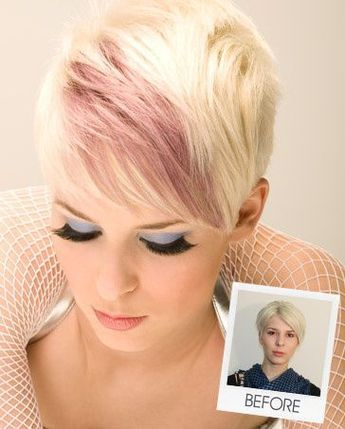 Amazing Colors For Pixie Haircuts Images And Video Tutorials The Haircut Web Short Hair Pictures Short Hair Styles Short Blonde Hair