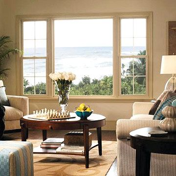 Window Picks Energyefficient Windows  Pella Windows Patio Fair Living Room Window Designs Decorating Inspiration