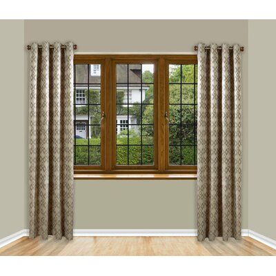 panel curtain rod