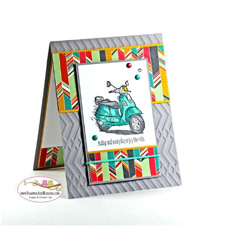 Stampin Up Today /& Everyday Cling Stamp Set Scooter Russian Nesting Dolls