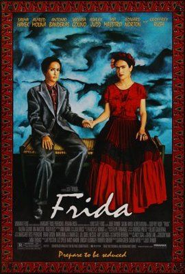 Frida 2002 Poster Frida Movie Julie Taymor Great Movies