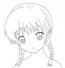 Bildergebnis Fur Cute Anime Girl Easy To Draw Beauty Pinterest