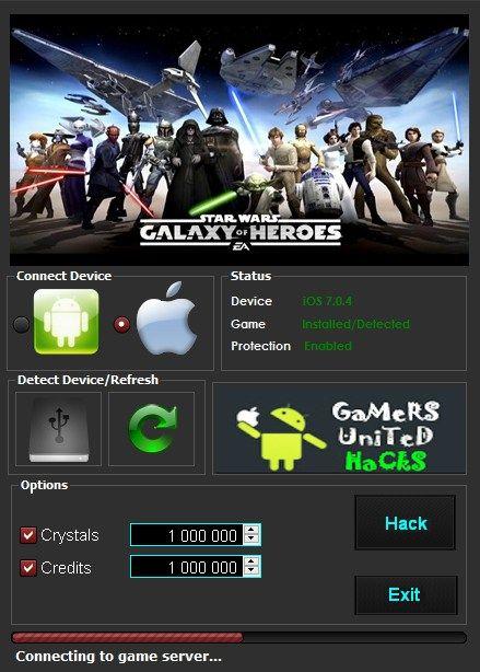 Star Wars Galaxy of Heroes Hack - Star Wars Galaxy of Heroes