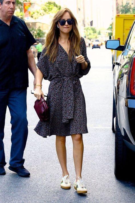 Slaying Queen! ❤️❤️❤️ Dakota Johnson out for lunch in New York City.... - #City #Dakota #Johnson #lunch #Queen #Slaying #York