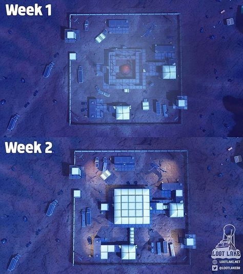 The changes to dusty divot! Comment how you think it will look next!